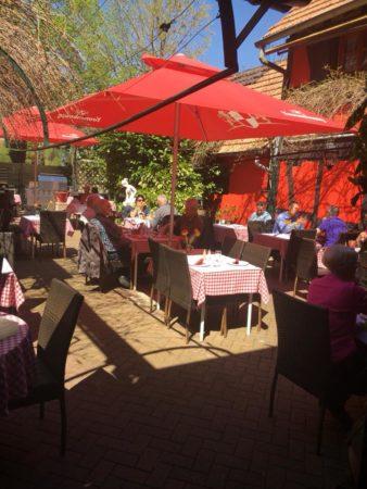 Terrasse de l'Osthof restaurant Alsacien