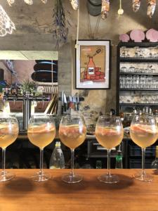Cocktails du bar Au Comptoir de la Ferme du Marais Girard à Bretignolles-sur-Mer