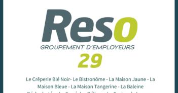 Reso 29 : hôtellerie et restauration, nos nouveaux adhérents