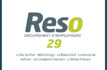 hôtellerie et restauration : les nouveaux adhérents Reso 29 du mois d'août
