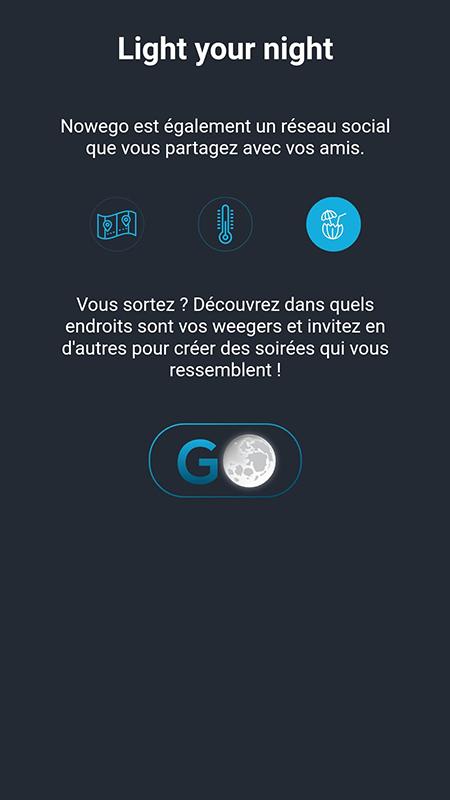 Capture d'écran de l'application Nowego : Introduction (3)
