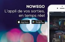 Bannière de l'application Nowego