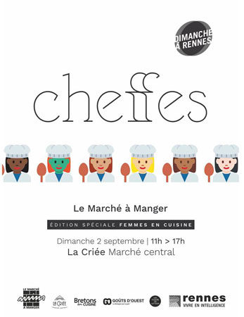 """Marcher à Manger, édition spéciales """"Femmes en cuisine"""""""