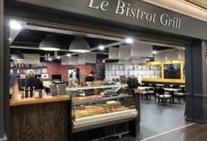 Burger, salades au Bistrot Grill à Quimper