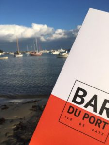 Carte du Bar du Port à l'Île de Batz