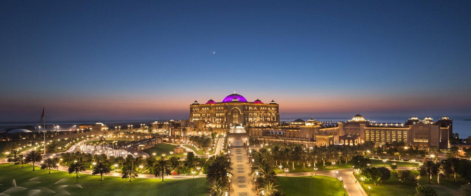Hôtel de luxe l'Emirates Palace de Abu Dhabi