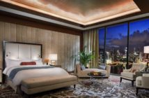 Suite de l'hôtel de luxe le Marina Bay Sands de Singapour