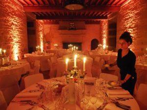 Dîner de Gala au Château de Kergroadez