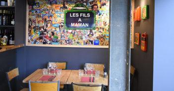 """Intérieur restaurant """"Les fils à maman"""" de Caen"""