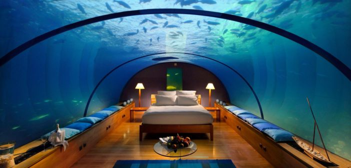 Hôtel insolite : Conrad Rangali Island Resort
