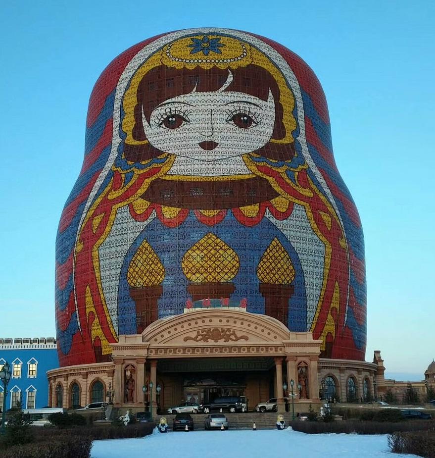 Hôtel insolite : Matryoshka Hotel