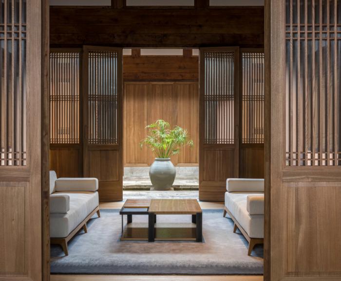 Plus beaux hôtels : Amanyangyun Shangaï