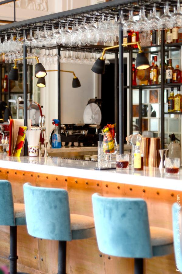 comptoir restaurant moderne