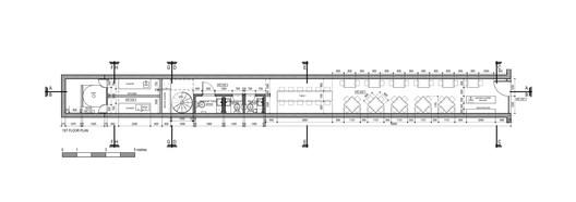 plan restaurant couloir