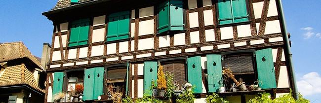 strasbourg maison typique