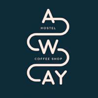 away hostel coffeeshop lyon