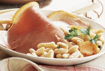 Spécialités Vendéennes : Le jambon-mogettes
