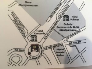 Plan Restaurant Millésimes 62