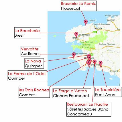 Tous au Restaurant 2016 Finistère