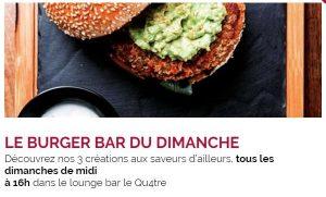 Le Burger Bar du dimanche