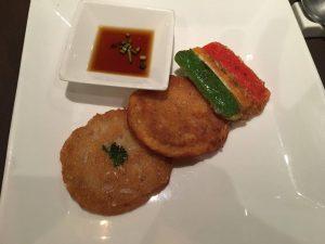 Galettes coréennes : restaurant soura