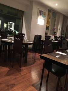 Restaurant coréen Soura : salle