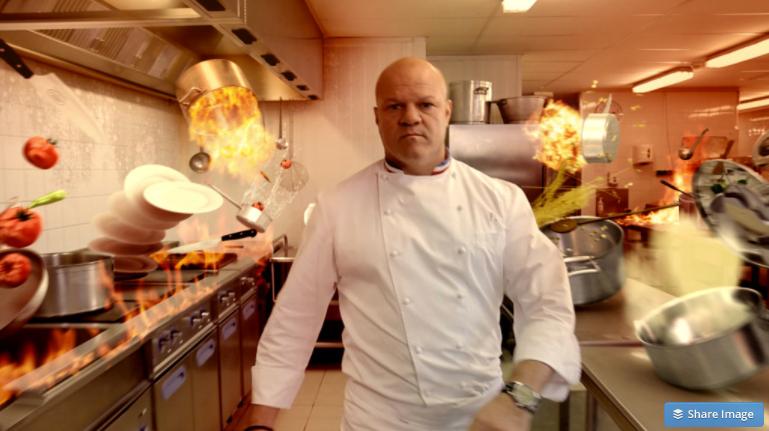 Cauchemar en cuisine philippe etchebest en tournage - Cauchemar en cuisine peyruis ...