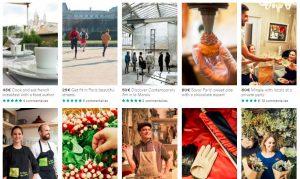 airbnb expériences paris