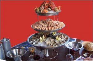 la croisette bénodet plateau fruits de mer