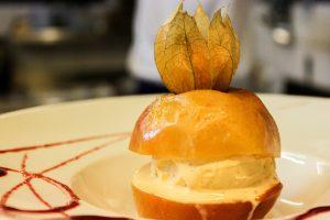 Pomme au four du Restaurant Escapades à Bénodet