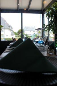 une table du Restaurant Escapades à Bénodet