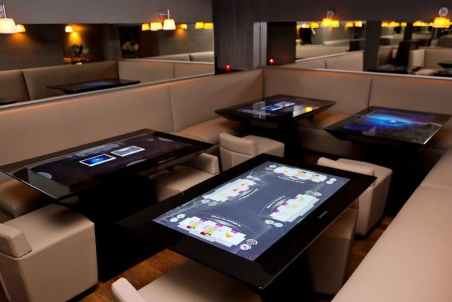 table connectée restaurant