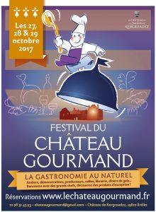 Festival du Château Gourmand à Brélès au Château de Kergroadez Finistère Bretagne