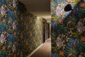 La magnifique tapisserie de l'Hôtel L'Arbre Voyageur à Lille