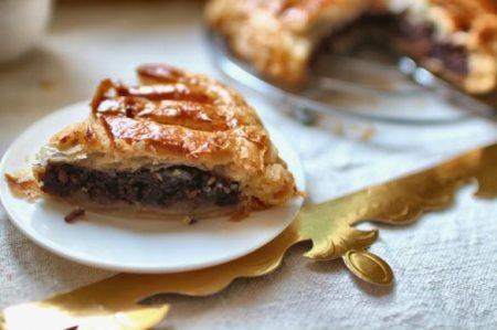 La galette des rois aux saveurs poires et chocolats