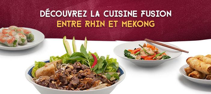 La cuisine vietnamienne et française se rencontrent au Mandala à Strasbourg