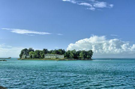L'île Tristan au cœur de baie de douarnenez
