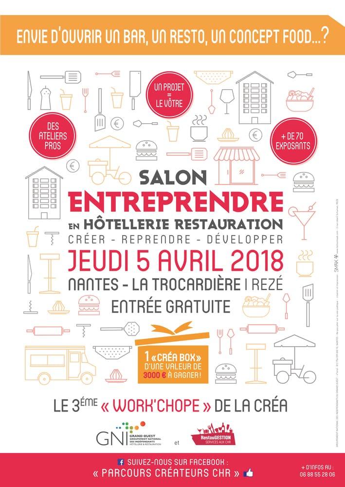Affiche Work Chope 2018 Nantes