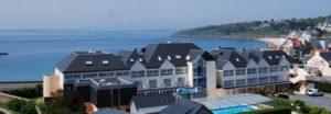 Hôtel de l'Océan à Concarneau et la vue mer