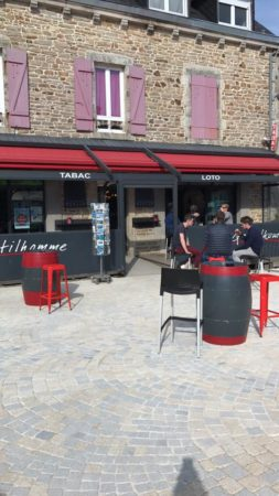 Bar tabac le gentilhomme fouesnant beg meil
