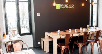 Intérieur restaurant Basilic & Co Nantes