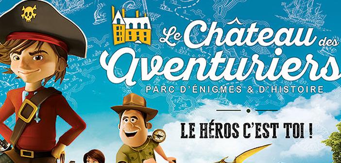 Le Château des Aventuriers, parc de loisirs à Avrillé en Vendée