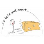 Logo bar à fromages Nantes - Le Brie qui Court