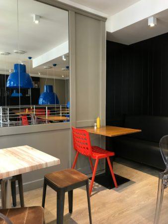 Quimper rue saint-mathieu : Burger Café