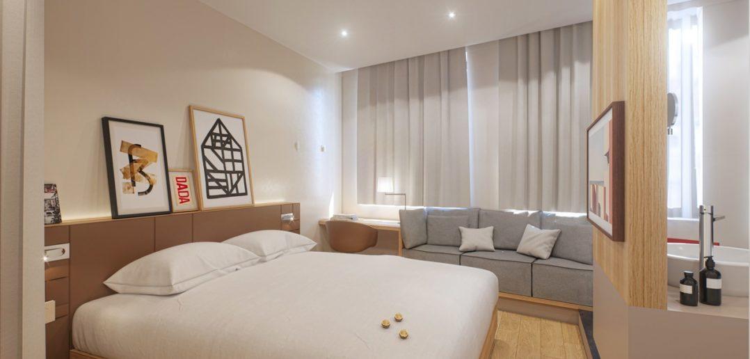 Chambre Nô signature premium - Hôtel 4 étoiles Lyon