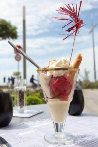Coupe glacée - Restaurant La P'tite Cale aux Sables d'Olonne en Vendée