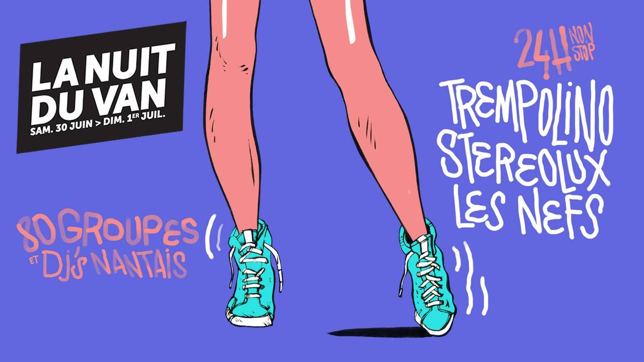 Affiche La Nuit du VAN Stéréolux