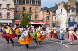 Le Festival des Filets Bleus à Concarneau