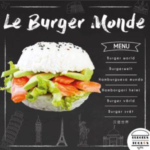 Burgers Toqués : catégorie Burger Monde