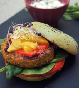 Burgers Toqués : Le Vegreen Burger de Marie TRAULLE, finaliste 2018